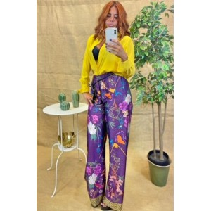 Pantalone in Raso Art.7444Fan