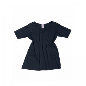 T-shirt scollo V oversize art.31302