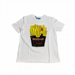 T-shirt basic MAKE UP art....