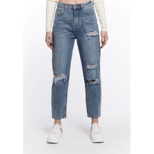 Jeans destroy  mom fit...